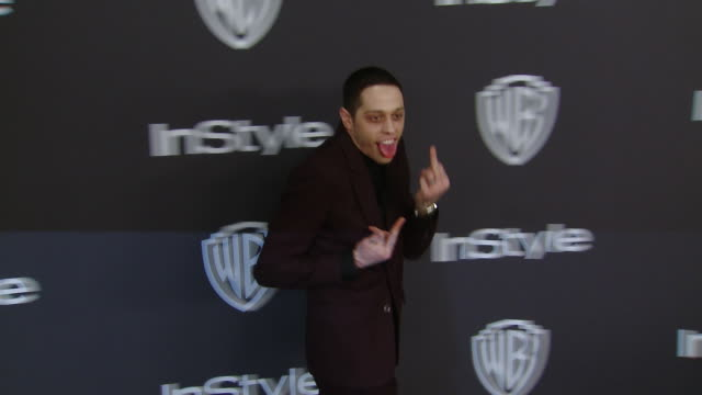 Pete Davidson at InStyle And Warner Bros Golden Globes After Party 2019 in Los Angeles CA