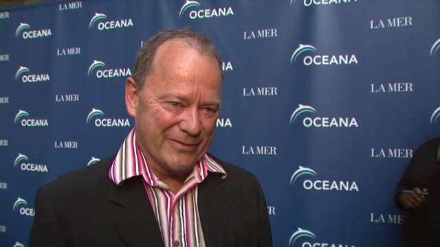 pete pt townend on being a part of the night at the oceana la mer celebrates world oceans day at los angeles ca - oceana stock videos & royalty-free footage