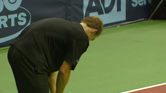pete sampras anna kournikova andy roddick and rennae stubbs at the advanta presents wtt smash hits celebrity tennis tournament at bren center... - andy roddick stock-videos und b-roll-filmmaterial