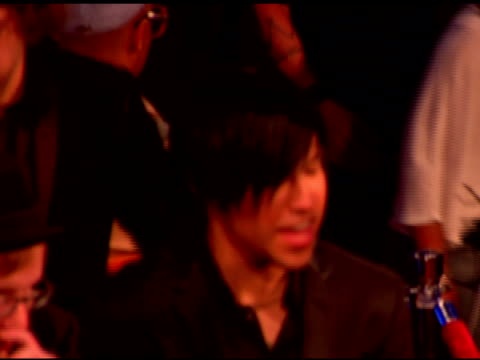 pete wentz at the 2007 mtv video music awards at the palms casino resort in las vegas nevada on september 10 2007 - mtv stock videos & royalty-free footage