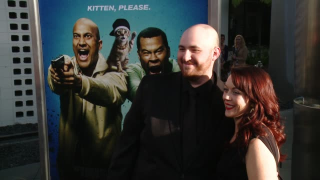 stockvideo's en b-roll-footage met peter atencio and patsy fitzgerald at keanu los angeles premiere at arclight cinemas cinerama dome on april 27 2016 in hollywood california - cinerama dome hollywood