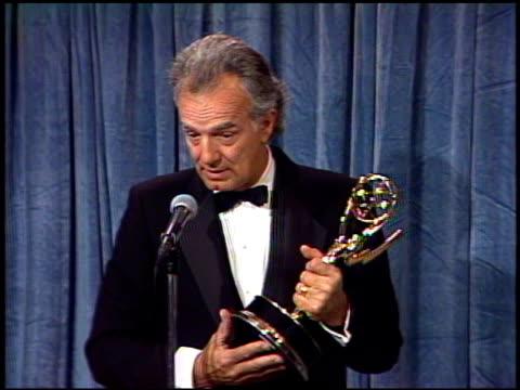 Peter Baldwin at the 1989 Emmy Awards Backstage at the Pasadena Civic Auditorium in Pasadena California on September 17 1989