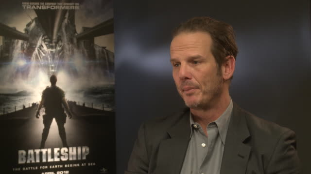 peter berg on wanting to make the film believable, being pro-military, the realism of the film, making the aliens relatable at claridge's hotel on... - claridge's stock videos & royalty-free footage