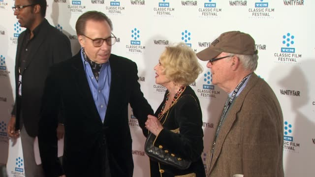 peter bogdanovich, tippi hedren at the tcm classic film festival opening night screening of 'a star is born' at hollywood ca. - tippi hedren stock videos & royalty-free footage