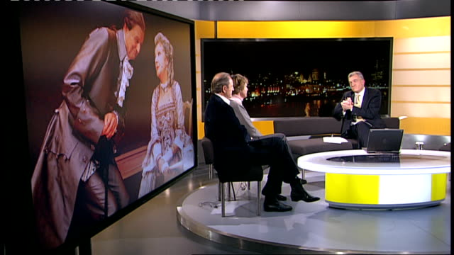 Peter Bowles and Penelope Keith interview continued SOT