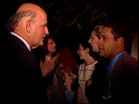 peter boyle at the 1997 emmy awards nomination party at the westwood marquis in los angeles, california on september 11, 1997. - peter boyle stock videos & royalty-free footage