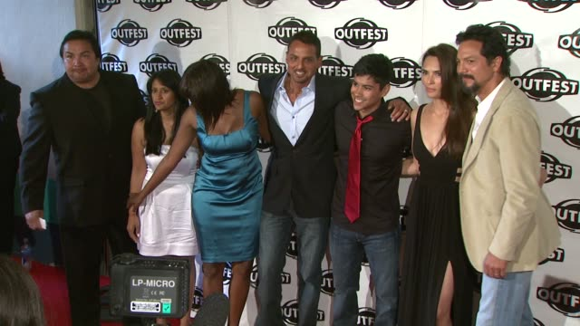 peter bratt jeremy ray valdez talisa soto benjamin bratt at the 2009 outfest opening night gala of 'la mission' at los angeles ca - benjamin bratt stock videos & royalty-free footage