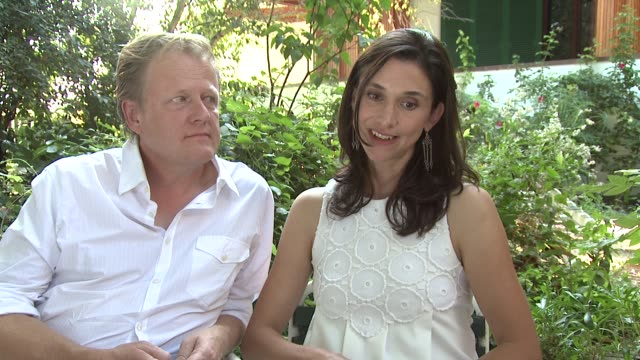 peter brosens jessica woodworth on how they work together at le cinquieme saison interview 69th venice films festival on september 06 2012 in venice... - saison stock videos & royalty-free footage
