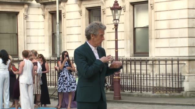 peter capaldi at royal academy of arts on june 06 2018 in london england - royal academy of arts bildbanksvideor och videomaterial från bakom kulisserna