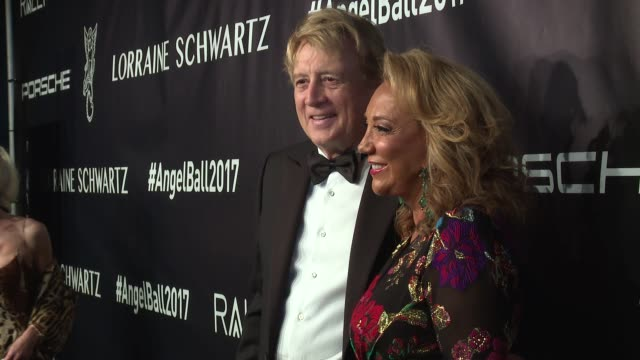 peter cervinka and denise rich at angel ball 2017 at cipriani wall street on october 23 2017 in new york city - cipriani manhattan stock videos & royalty-free footage