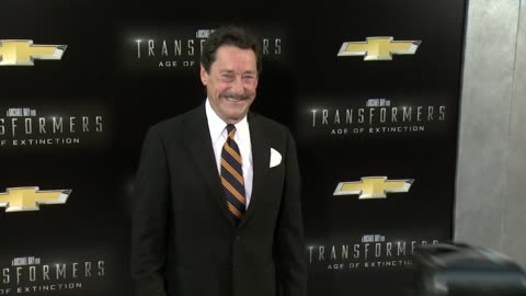 """peter cullen at """"transformers: age of extinction"""" new york premiere at ziegfeld theatre on june 25, 2014 in new york city. - new age stock videos & royalty-free footage"""