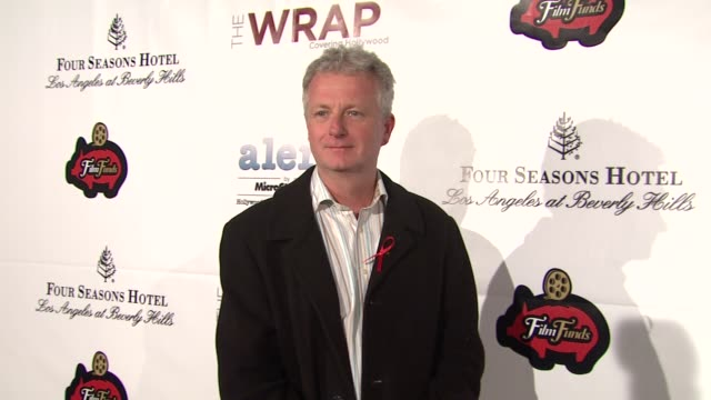 peter devlin at thewrap.com pre-oscar party on 2/22/2012 in beverly hills, ca. - oscar party stock videos & royalty-free footage
