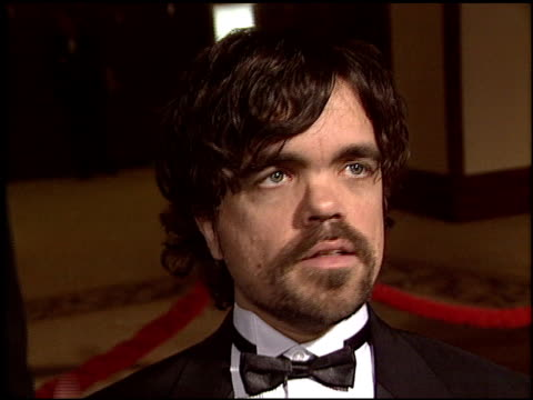 peter dinkage at the 2004 writers guild awards at the century plaza hotel in century city, california on february 21, 2004. - century plaza stock videos & royalty-free footage