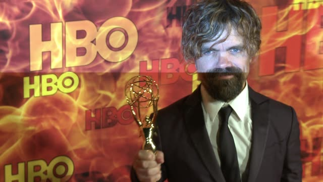 peter dinklage at the 2015 hbo emmy after party at the plaza at the pacific design center on september 20, 2015 in los angeles, california. - pacific design center stock videos & royalty-free footage