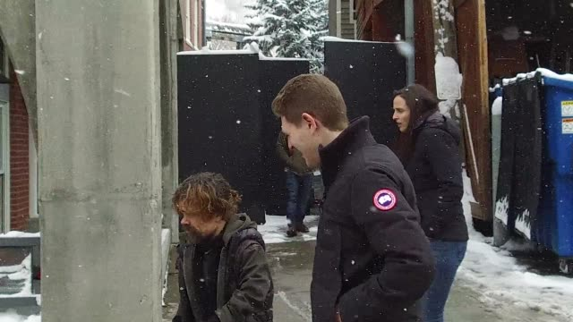 stockvideo's en b-roll-footage met peter dinklage at the canada goose at the 2018 sundance film festival on february 03 2018 in park city utah - sundance film festival