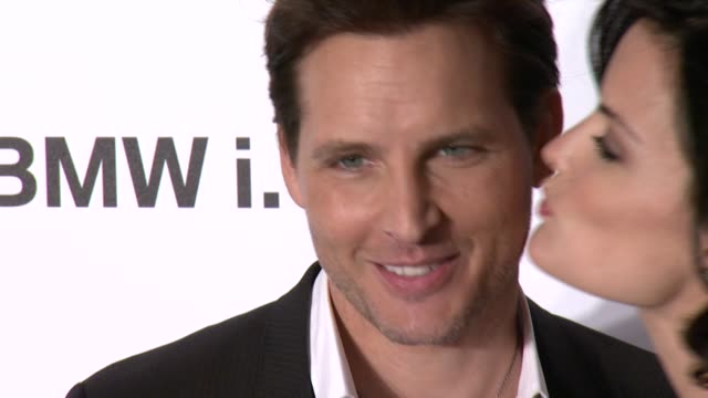 peter facinelli and jaimie alexander at the gentlemen's ball presented by nautica, movado and bmw at iac on 10/23/13 in new york, ny. . - peter facinelli video stock e b–roll