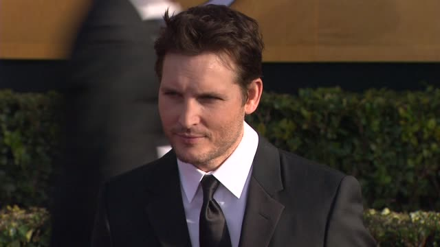 peter facinelli at 19th annual screen actors guild awards - arrivals 1/27/2013 in los angeles, ca. - peter facinelli video stock e b–roll