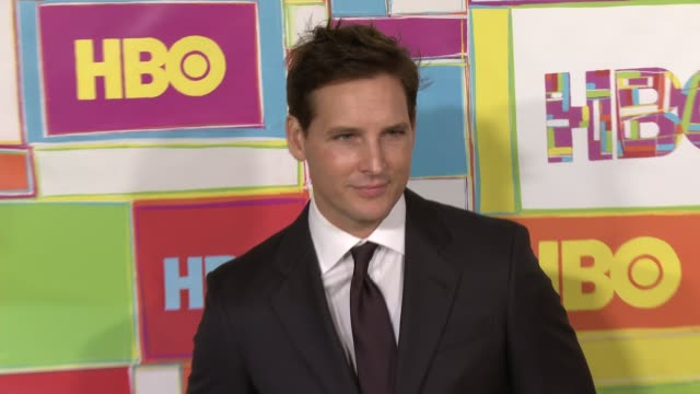 vídeos y material grabado en eventos de stock de peter facinelli at hbo's official 2014 emmy after party at the plaza at the pacific design center on august 25 2014 in los angeles california - premios emmy