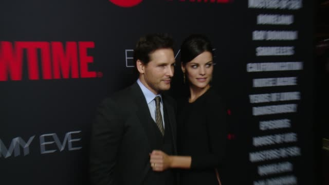"""peter facinelli at showtime """"emmys eve"""" 2014 on august 24, 2014 in los angeles, california. - peter facinelli video stock e b–roll"""