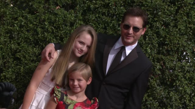 peter facinelli at the 2015 creative arts emmy awards at microsoft theater on september 12, 2015 in los angeles, california. - peter facinelli video stock e b–roll