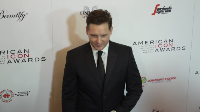 peter facinelli at the american icon award at regent beverly wilshire hotel on may 19, 2019 in beverly hills, california. - peter facinelli video stock e b–roll