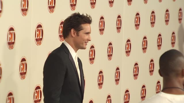 peter facinelli at the entertainment tonight emmy party at vibiana at hollywood ca. - peter facinelli video stock e b–roll