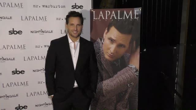 peter facinelli at the lapalme magazine fall cover party on november 08, 2017 in los angeles, california. - peter facinelli video stock e b–roll