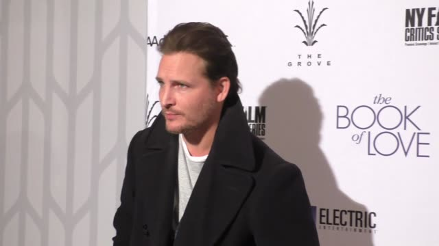 "peter facinelli at the ""the book of love"" los angeles premiere at pacific theatre at the grove on january 10, 2017 in los angeles, california. - the grove los angeles stock videos & royalty-free footage"