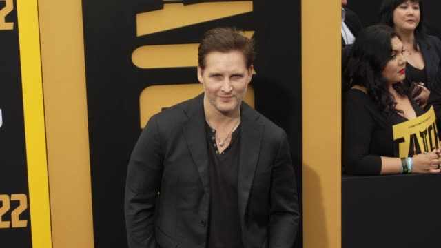 peter facinelli at the u.s. premiere of hulu's 'catch-22 at tcl chinese theatre on may 07, 2019 in hollywood, california. - peter facinelli video stock e b–roll