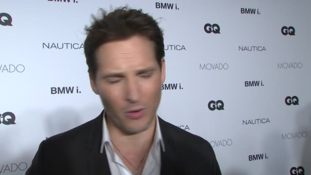 INTERVIEW Peter Facinelli jokes that he had to step up his game tonight On how excited he is to be honored at the Gentlemen's ball On what it takes...