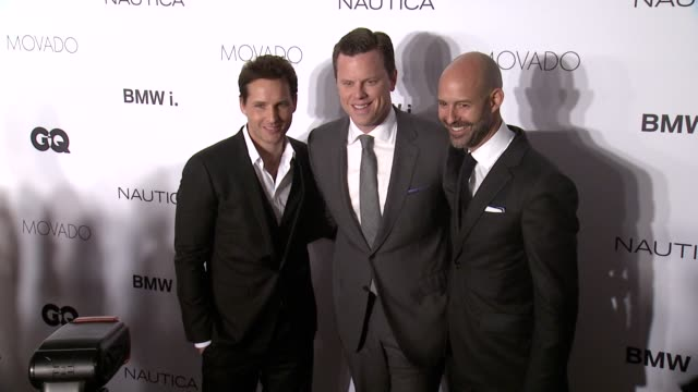 peter facinelli, willie geist, and chris mitchell at the gentlemen's ball presented by nautica, movado and bmw at iac on 10/23/13 in new york, ny. . - peter facinelli video stock e b–roll