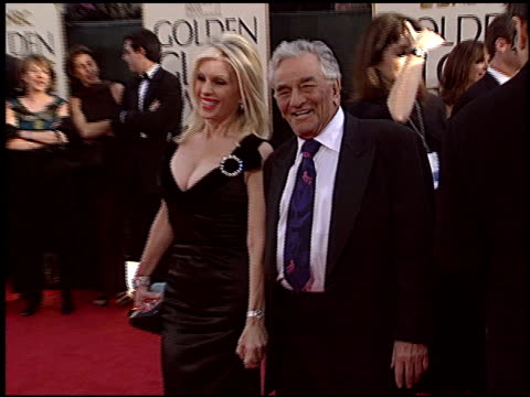 peter falk at the 2006 golden globe awards at the beverly hilton in beverly hills california on january 16 2006 - peter falk stock-videos und b-roll-filmmaterial