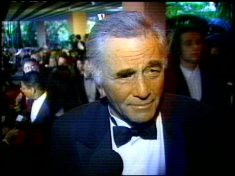 peter falk at the beverly hills hotel reopening at the beverly hilton in beverly hills california on june 3 1995 - peter falk stock-videos und b-roll-filmmaterial