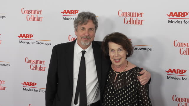 peter farrelly and mariann farrelly at the 18th annual movies for grownups awards at the beverly wilshire four seasons hotel on february 04, 2019 in... - フォーシーズンズホテル点の映像素材/bロール