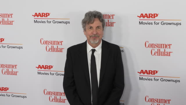 peter farrelly at the 18th annual movies for grownups awards at the beverly wilshire four seasons hotel on february 04, 2019 in beverly hills,... - フォーシーズンズホテル点の映像素材/bロール