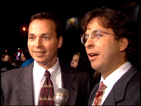 peter farrelly at the 'dumb and dumber' premiere at the cinerama dome at arclight cinemas in hollywood california on december 6 1994 - arclight cinemas hollywood stock videos and b-roll footage