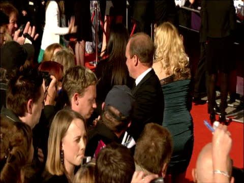 peter firth on red carpet at british academy television awards london 26 april 2009 - television awards stock videos & royalty-free footage