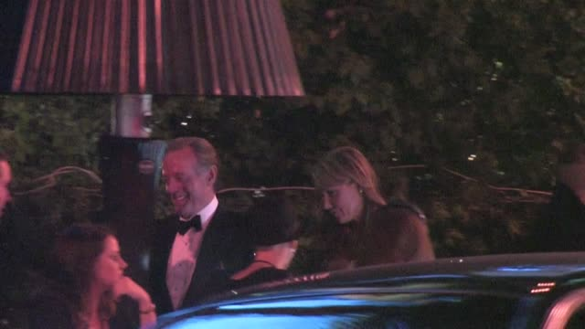 peter fonda arrives at the 2012 vanity fair oscar party in west hollywood ca 02/26/12 - oscar party stock-videos und b-roll-filmmaterial