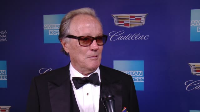 INTERVIEW Peter Fonda on Palm Springs and Gary Oldman at the 29th Annual Palm Springs International Film Festival Awards Gala at Palm Springs...