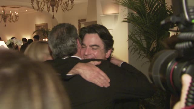 peter gallagher, alan j. fuerstman at the montage beverly hills opening at los angeles ca. - montage beverly hills stock videos & royalty-free footage