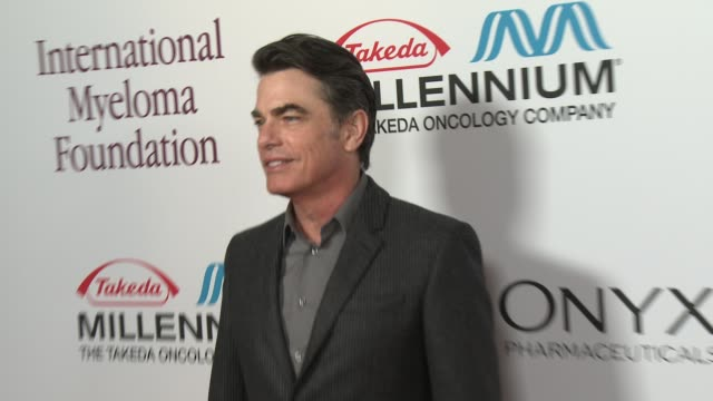 peter gallagher at international myeloma foundation 7th annual comedy celebration benefiting the peter boyle research fund & supporting the black... - peter boyle stock videos & royalty-free footage