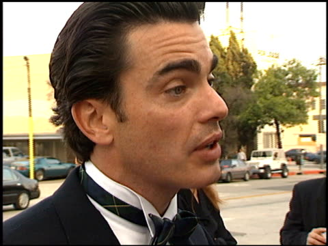 peter gallagher at the blockbuster entertainment awards at pantages theater in hollywood, california on june 3, 1995. - パンテージスシアター点の映像素材/bロール