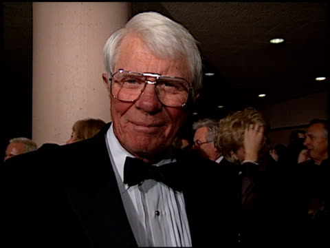 peter graves at the american cinema awards at the bonaventure hotel in los angeles california on november 2 1996 - 1996 stock videos & royalty-free footage