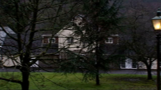 further questions over deputy leadership campaign finances wales ext peter hain's house neath neath labour party constituency office - politische gruppe stock-videos und b-roll-filmmaterial