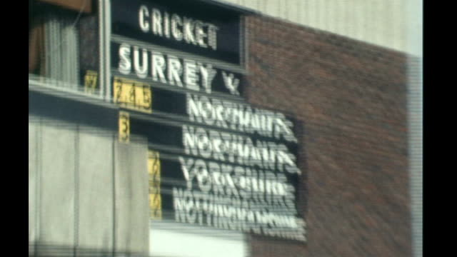 peter hain resigns forcing cabinet reshuffle tx antiapartheid protesters outside cricket ground disrupting south african 1970 cricket tour - channel 4 news stock videos & royalty-free footage