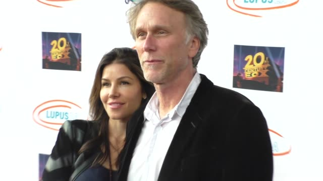 peter horton at the lupus la orange ball a night of superheroes at fox studios in los angeles at celebrity sightings in los angeles on may 07 2016 in... - lupus la orange ball video stock e b–roll