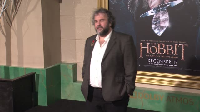 Peter Jackson at The Hobbit The Battle of the Five Armies Los Angeles Premiere at Dolby Theatre on December 09 2014 in Hollywood California