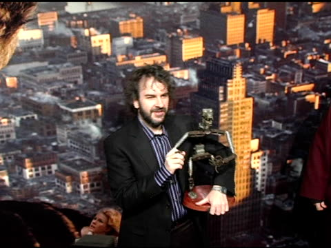Peter Jackson at the 'King Kong' New York Premiere at Loews EWalk and AMC Empire Cinemas in New York New York on December 5 2005