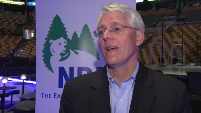 peter lehner talking about nrdc receiving the check having james taylor's involvement and fighting for changes needed at the carole king james taylor... - national resources defense council stock videos & royalty-free footage