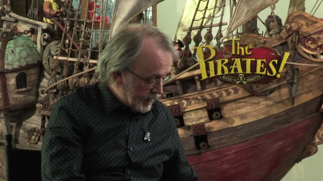 peter lord sums the film up in one word which originated from hugh grant 'gagtastic' interview peter lord at aardman features on january 22 2012 in... - educational subject stock videos and b-roll footage